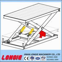 LISJG2.0-1.5 Scissor lift drawing/Hydraulic lift drawing/Hydraulic platform drawing