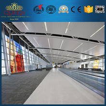 Indianapolis International Airport Square Ceiling Tile Shape False Ceiling Design