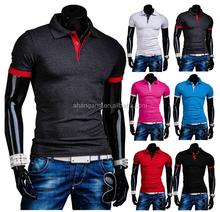 china supply custom brand polo t-shirt manufacture