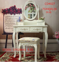 Good quality low price indian wooden dressing table designs