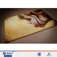 Funny drsign direct manufacturer acrylic nude children funny photo frame