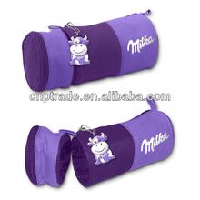 Made In China Compartment Korean Canvas Pencil Case For Teenagers