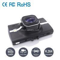 High Quality Sony IMX322 lens LED Light Support 1080P Dash Cam For Car