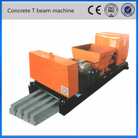 prestressed concrete T beam extruder, prestressed concrete machine for T beam, machinery prestressed t beams concrete