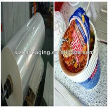 PET heat sealing film for cup sealing,box sealing