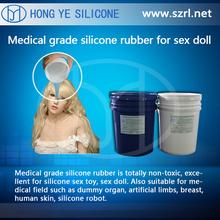 High quality medical grade liquid silicone/sex doll silicone