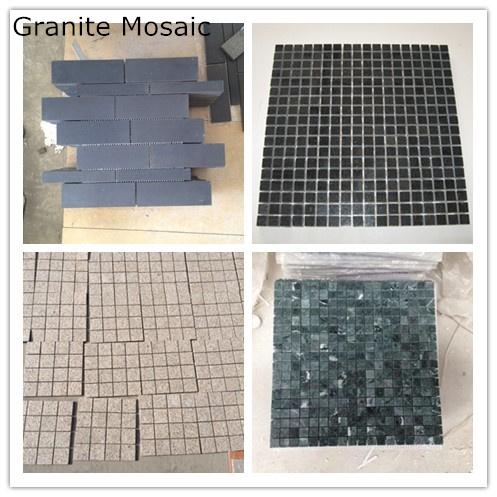 Mosaico Para Barras Color Negro