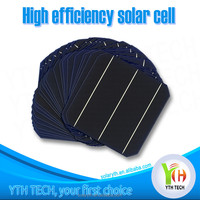 156x156mm 125x125mm prices flexible Broken solar cell about 4.7 Watt/Cheap solar cells for sale made in China