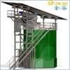 C50 organic waste composting machine