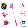 Mobile phone accessories factory in china cable selfie stick extendable holder for travel tourism
