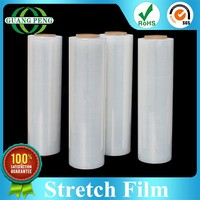LLDPE Material Clear Packaging Commercial Plastic Wrap