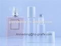 Rm12-1550 5ml vidro rolo no frasco com tampa de plástico branco