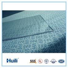 Huili Polycarbonate Solid Sheet width 1220mm*2440mm/ 92% light transmission