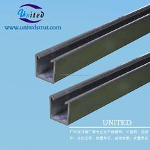 41 * 21 mm canal c /de revestimiento de zinc luz canal listón