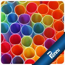 Food Grade PP Change Color Straw for Drink
