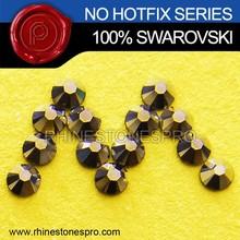 Wholesale Swarovski Elements Metallic Light Gold (MLGLD) 3ss Flat Back Crystal No Hot Fix Rhinestone