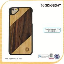 customized phone case wood phone covering for iphone 6 plus new technology product in china