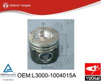 Original yuchai engine YC6L piston for Chinese truck L3000-1004015A