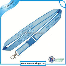 Promotion cheap custom lanyards silkscreen