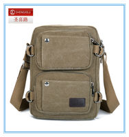 men's casual sports canvas Cross body bag Men Business Office Shoulder Bag Canvas School Canvas Messenger Bag