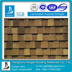 Cheaper laminated asphalt shingle/roofing shingle/roofing tile for sale