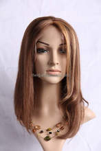 cheap fashionable hair body wave brazilian human hair lace front wigs with bangs