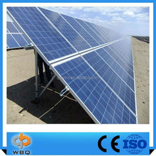 Solar Panel Single Pole Ground Mount System