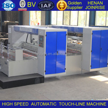 One-off indentation forming Automatic corrugate carton board creasing machine with ISO/BV