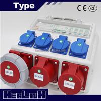 Industrial power distribution box