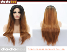 New products high temperature resistant straight long hair wigs