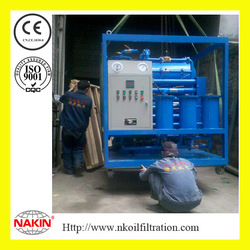 Double Stages Vacuum Transformer Oil Dehydrator