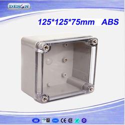 Enclosure Joint Box, Waterproof Enclosure Joint Box, Transparent Waterproof Enclosure Joint Box DS-AT-1212-S 125*125*75 mm
