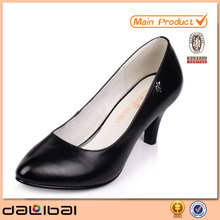 latest design genuine leather sexy ladies high heels 2014 cheap wholesale china womens dress shoes