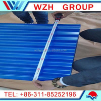 GI/hot-dip Galvanized Corrugated Steel Roofing Sheets for metal roof/roof tile china supplier