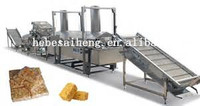 2015 SH 1.5~8t/8h Large Capacity High Quality Sweet Snack Food Full-automatic Caramel treats/Shaqima Production Line