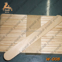 Disposable laboratory skin medical cosmetic wooden spatula