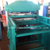 New Type Rubber Floor Tiles Vulcanizing Press machine with Pull-Push Mould Device
