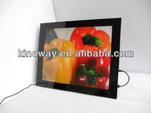 photo frames in dubai 17'' wall mounted HD 1280*1050 perfect home/hotel decoration