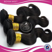 100% Virgin Indian Remy Human Hair Extension Body Wave