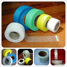 Self adhesive fiberglass mesh fabric tape for stucco