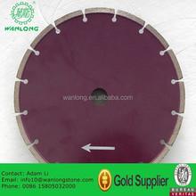 China Tool 12'' 16'' 18'' Asphalt and Concrete Cutting Blade Diamond Cutting Disc for Concrete Asphalt Cutting Blade Machine
