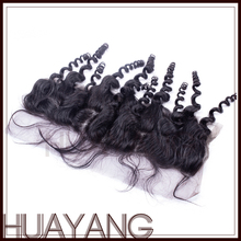 Unprocessed high quality tangle free no shedding lace closure hair density 130%