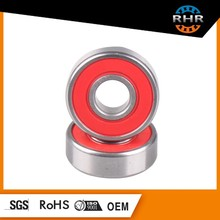 608 ball bearing for skateboard ABEC-5 with steel GCR15material inner and outer ring