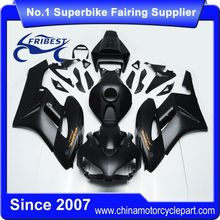 FFKHD019 China Fairings Motorcycle For CBR1000RR 2004 2005 Matt Black Orange Sticker