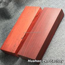 Fashion design wood pen box luxury diy wooden pen kits wholesale bulk buy from china