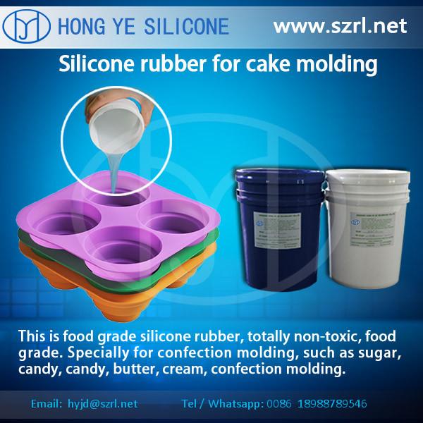 Liquid latex mold making food grade