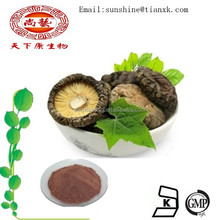 Shitake Mushroom Extract Powder Food Frade / USP,EP,CP Reishi Mushroom Extract Powder / Polysaccharide 40% Mushroom Extract