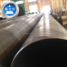 ASTM API 5L DIN BS JIN EN spiral welded steel pipes and tube