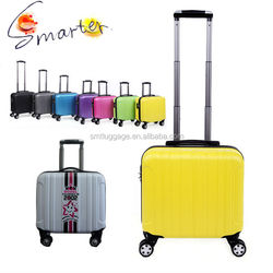 """Pretty Hardshell ABS Trolley Travel Luggage for 17"""" laptop"""
