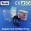 Alibaba supplier small plastic clear box macaron packaging / clear folding plastic box wholesale